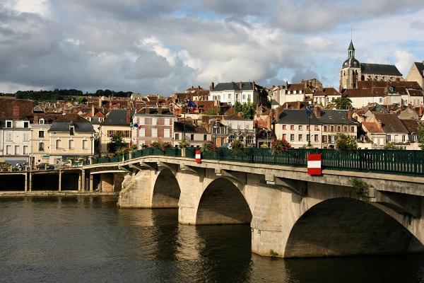 Joigny in Burgundy