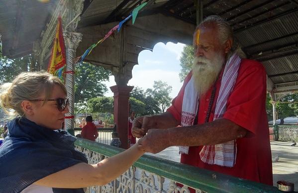 Lucky Priest Hand Tying