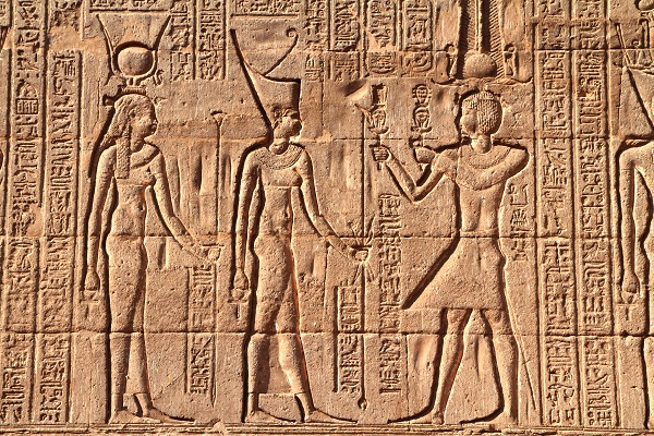 Relief at Temple of Khnum