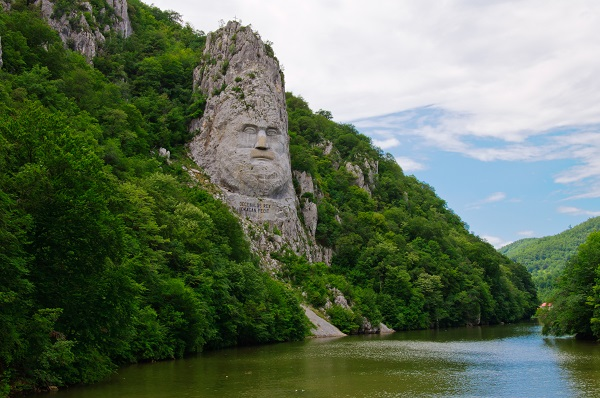 Face of Decebalus