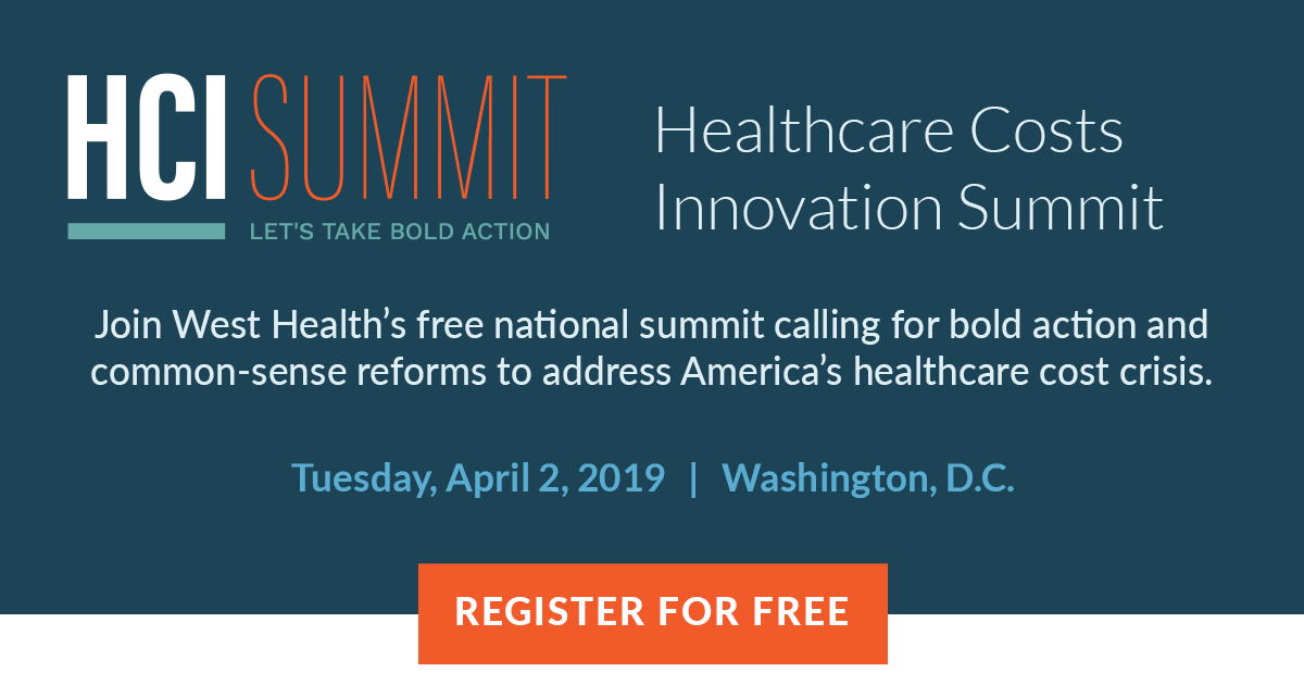West Health S 2019 Healthcare Costs Innovation Summit