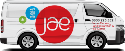 JAE Carpet Cleaning Van