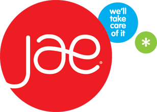 JAE We'll Take Care Of It Logo