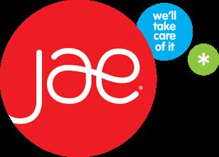 JAE We'll Take Care Of It Logo