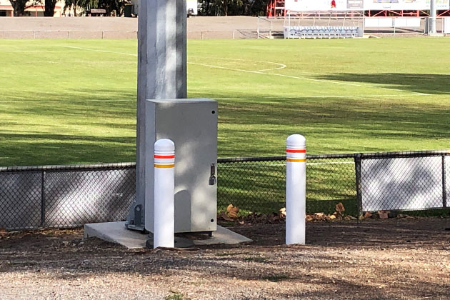 EAB car parking bollards