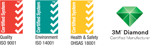 Our ISO accreditations