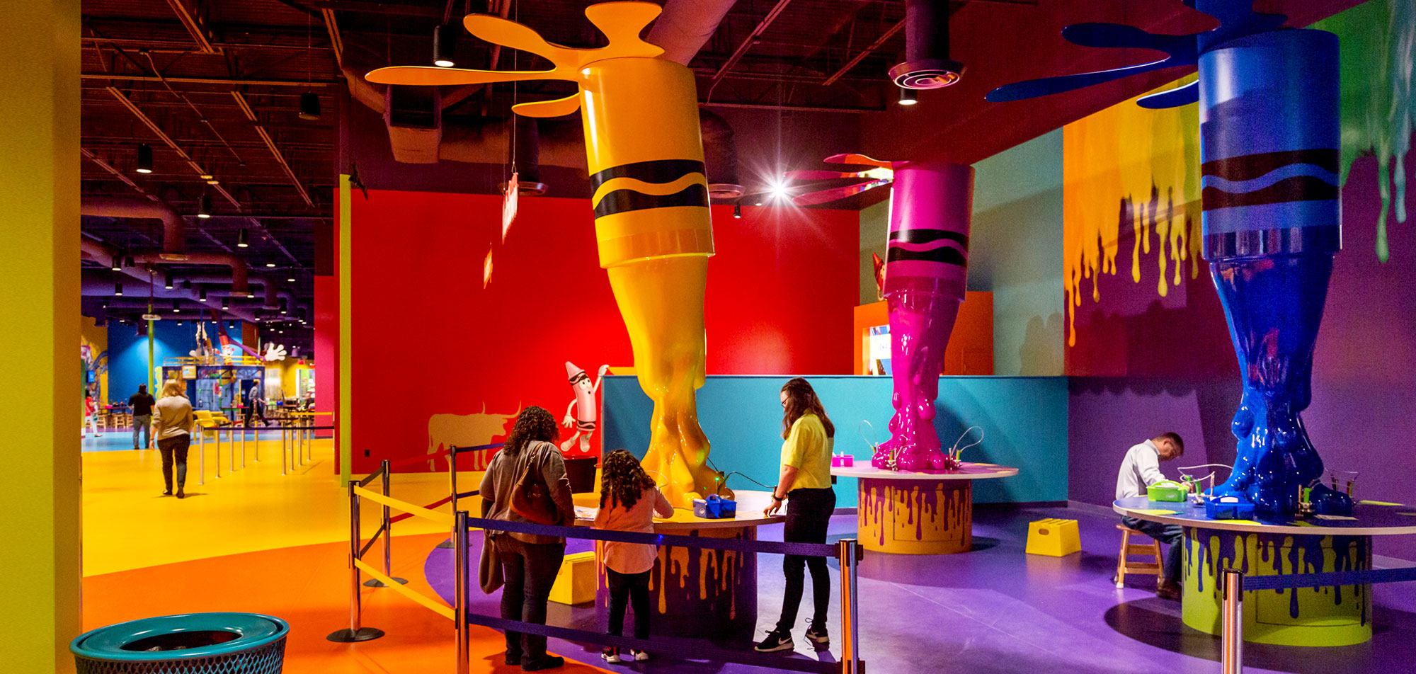 Crayola Experience Plano Now Open at The Shops at Willow Bend ...