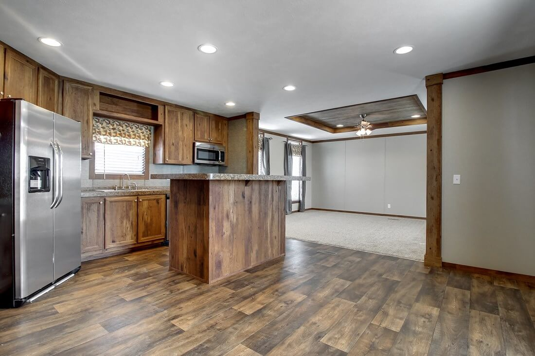 Manufactured Wood Kitchen Mobile Homes For Sale Houston