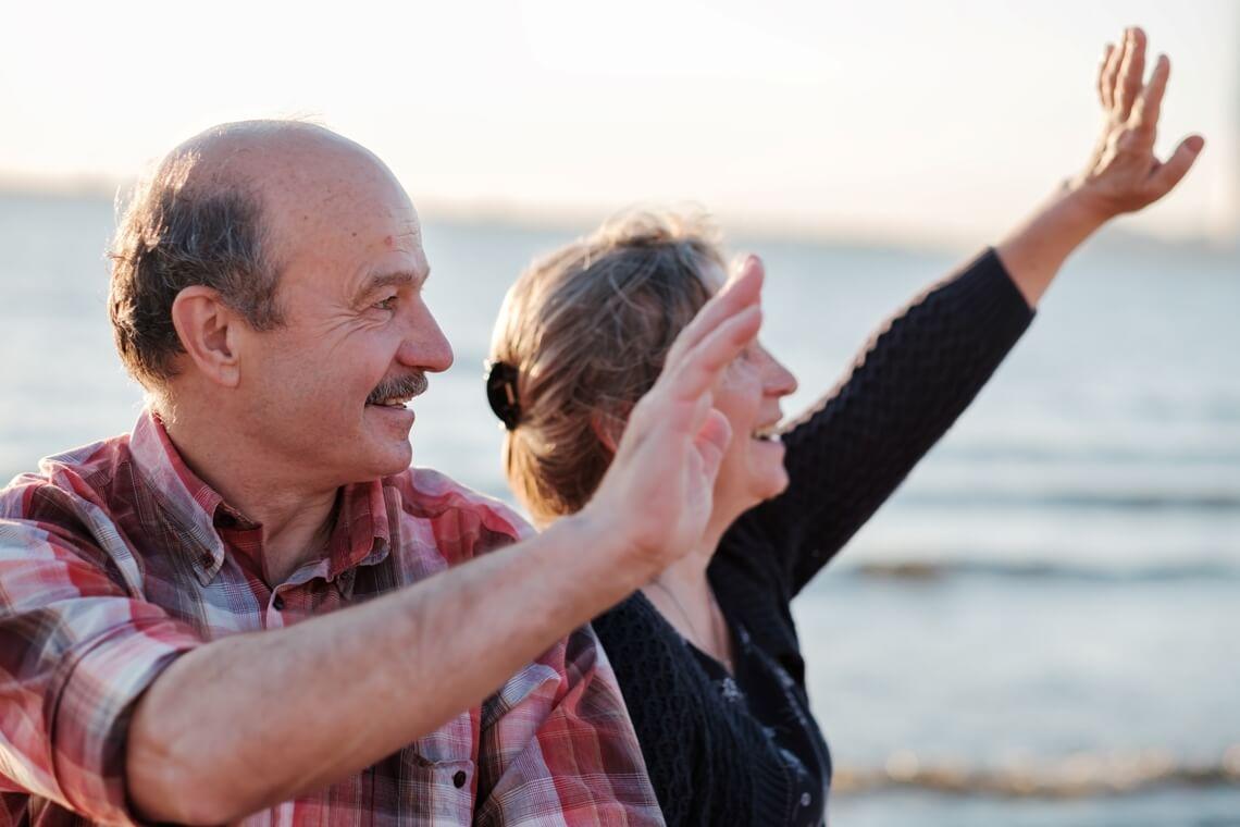 Portrait Of A Happy Romantic Couple Outdoors Mobile Homes For Sale Houston