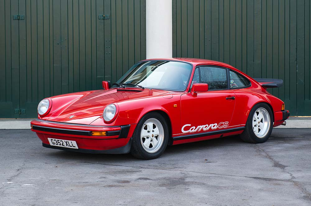 1989 Porsche 3.2 Carrera Club Sport