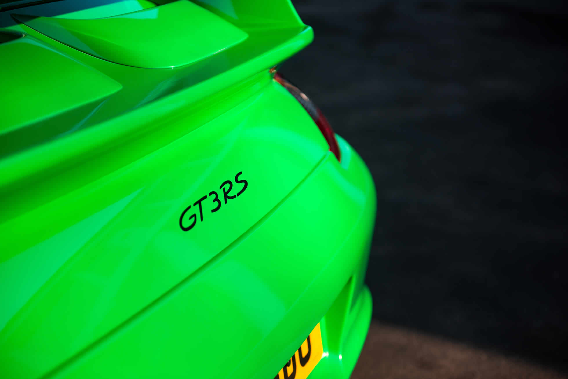 For Sale 2008 Porsche 911 GT3 RS (997.1) rear view