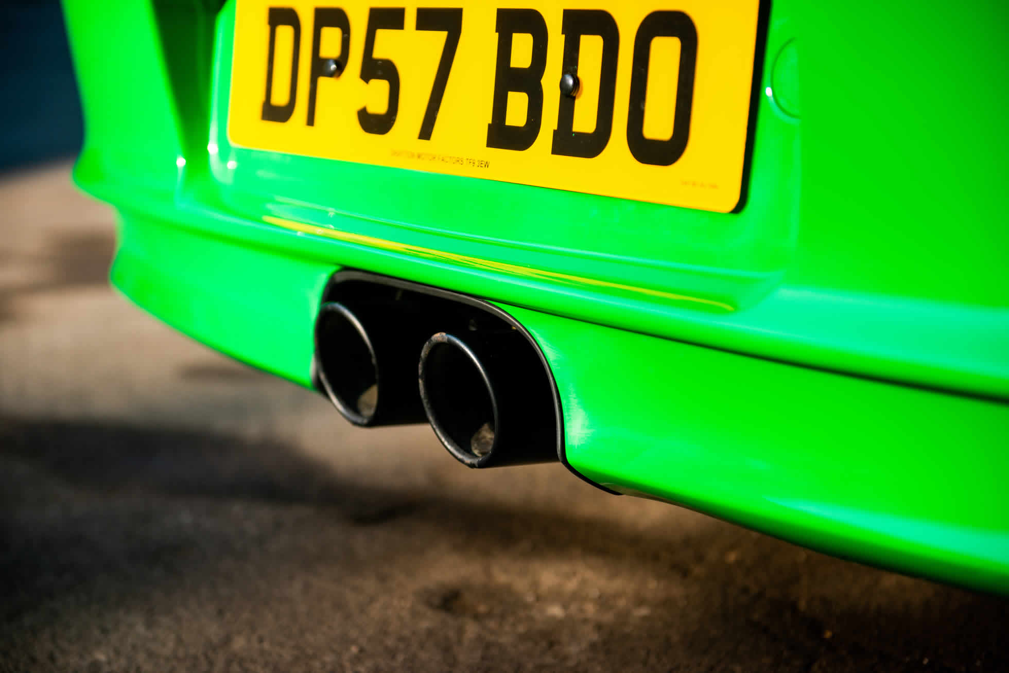 For Sale 2008 Porsche 911 GT3 RS (997.1) exhaust pipes