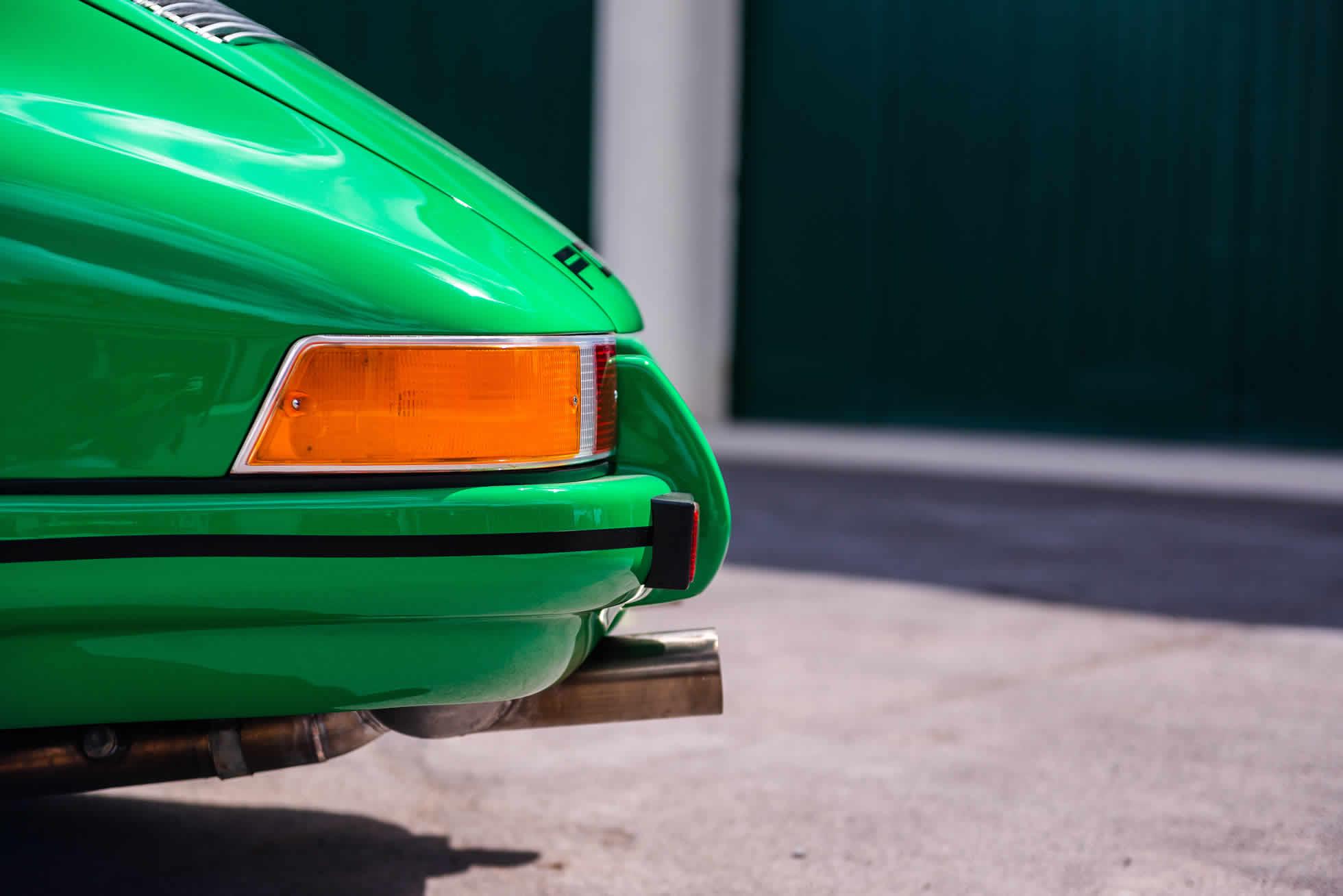 For Sale 1971 Porsche 911 S-T rear side view