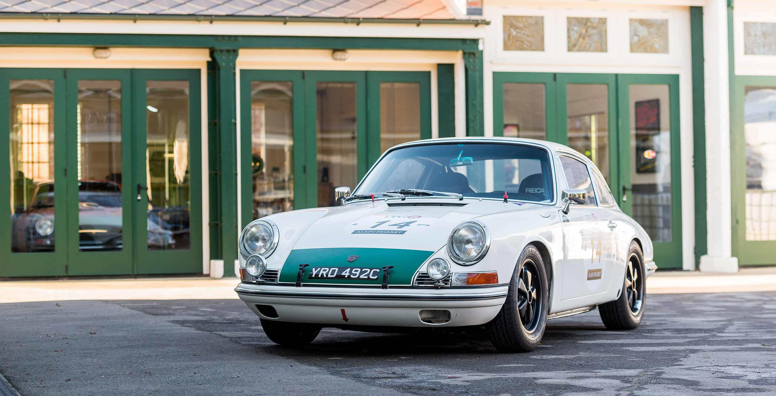 1965 Porsche 911 2-Litre Race Car