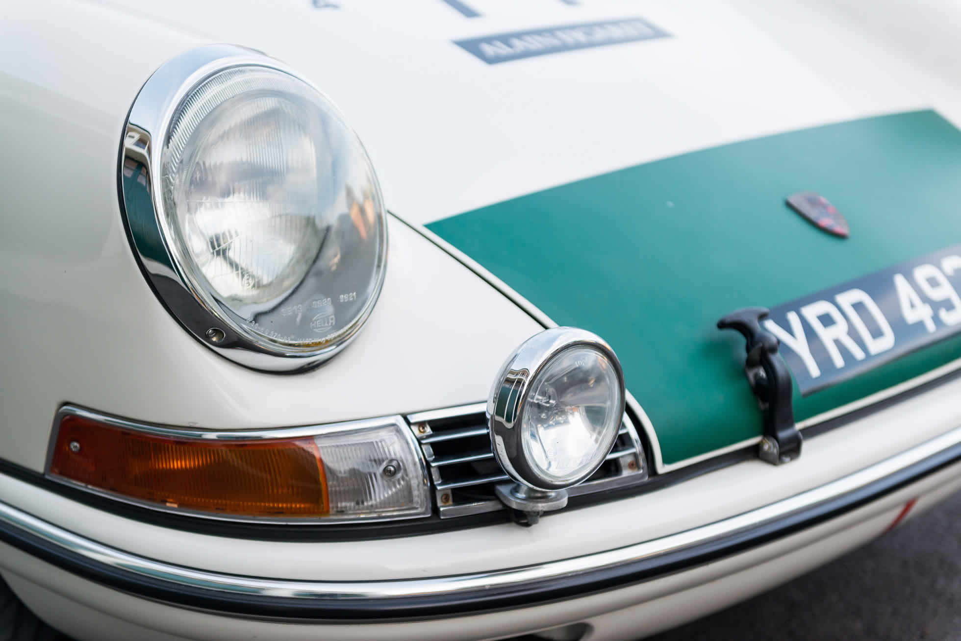 For Sale 1965 Porsche 911 2-Litre Race Car lights