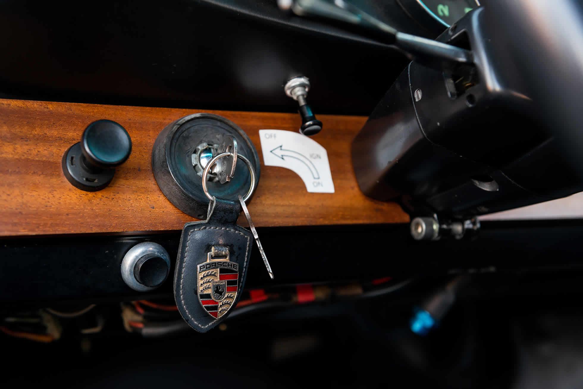 For Sale 1965 Porsche 911 2-Litre Race Car dash