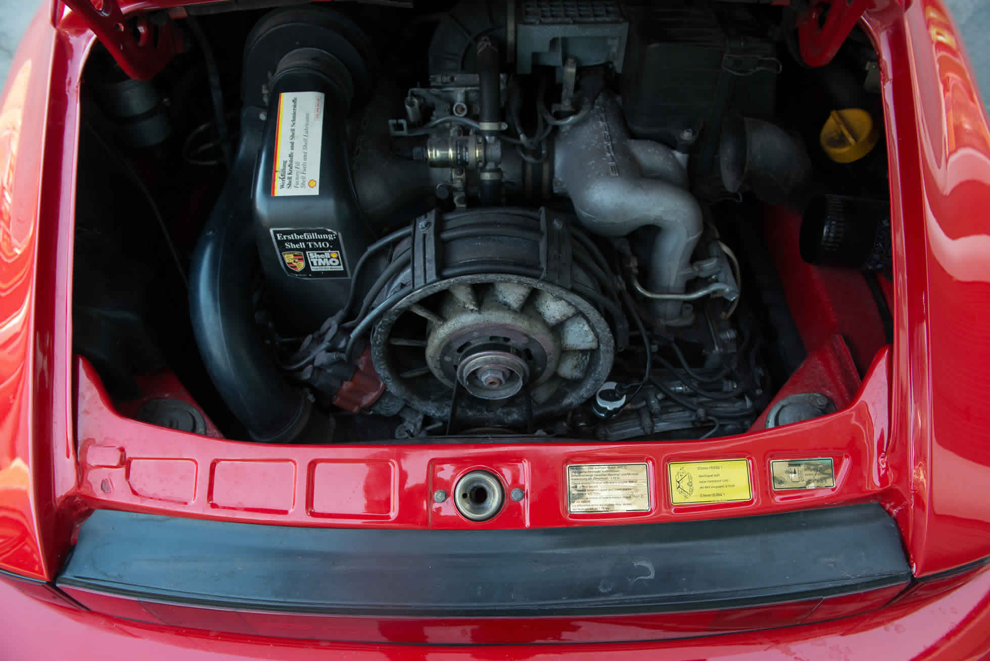 For Sale 1989 Porsche 3.2 Carrera Club Sport engine