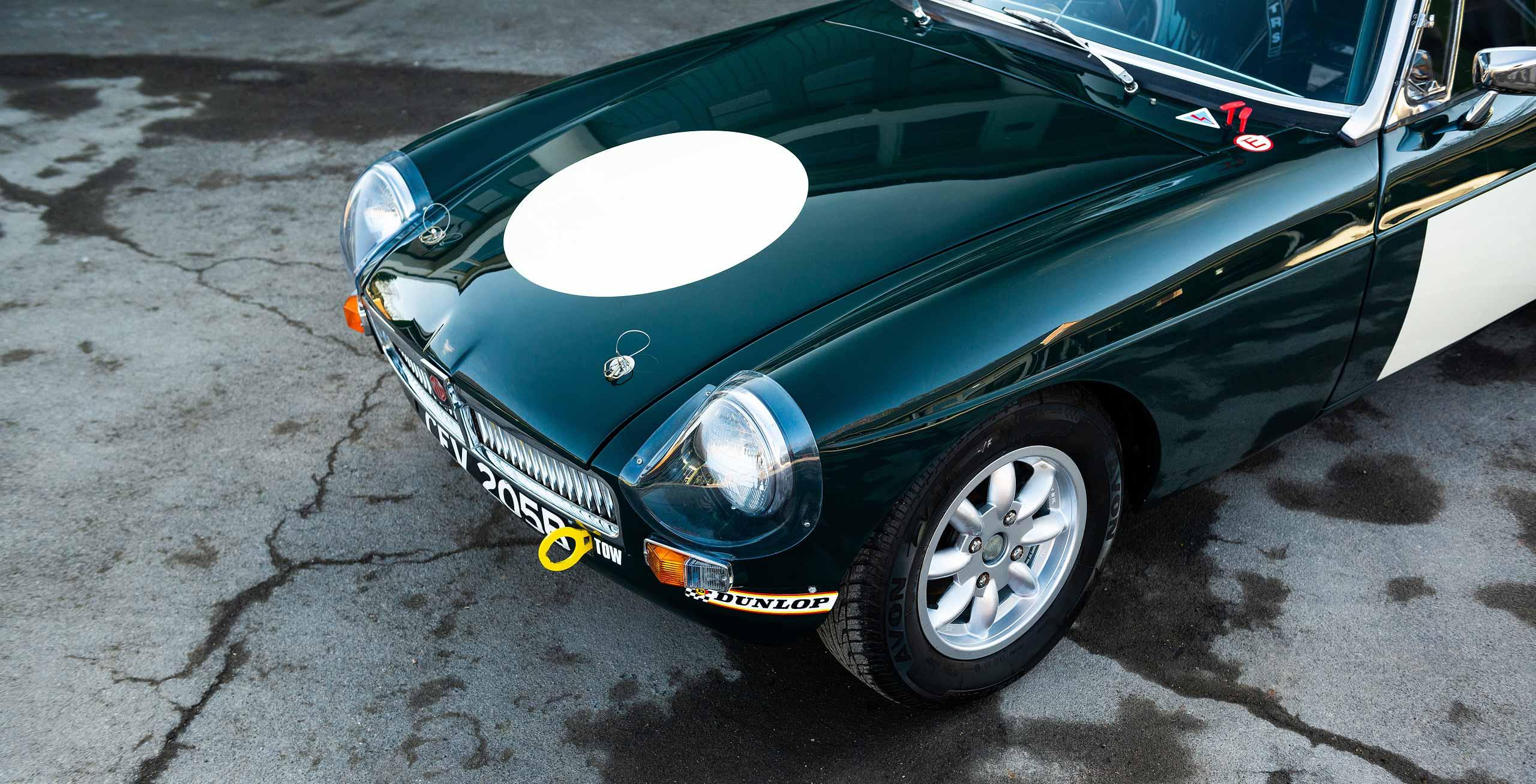 1964 MGB Roadster FIA Race Car