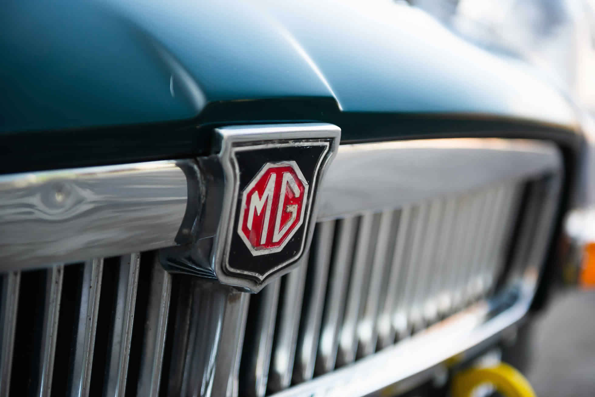 For Sale 1964 MGB Roadster FIA Race Car grill