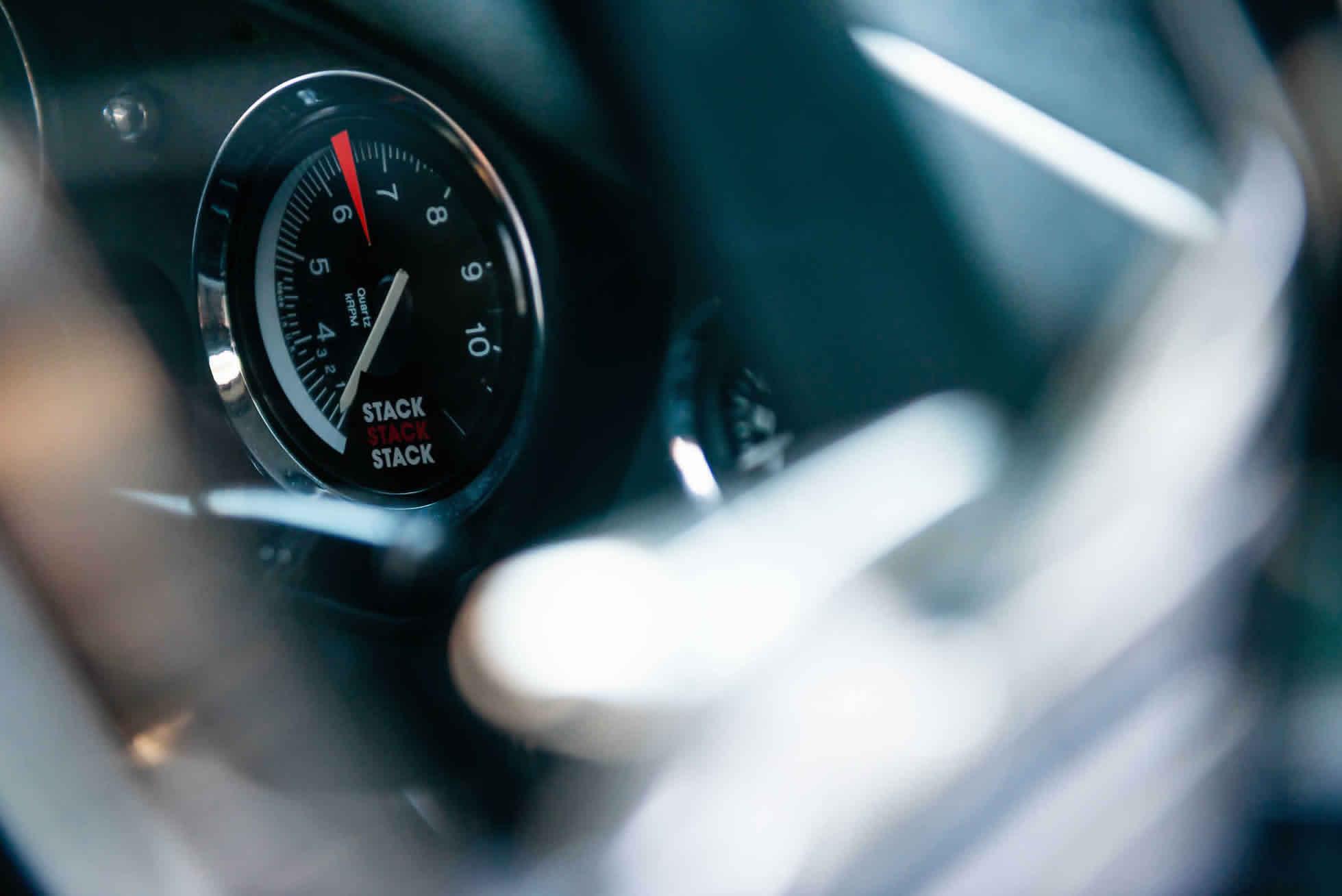 For Sale 1964 MGB Roadster FIA Race Car dash