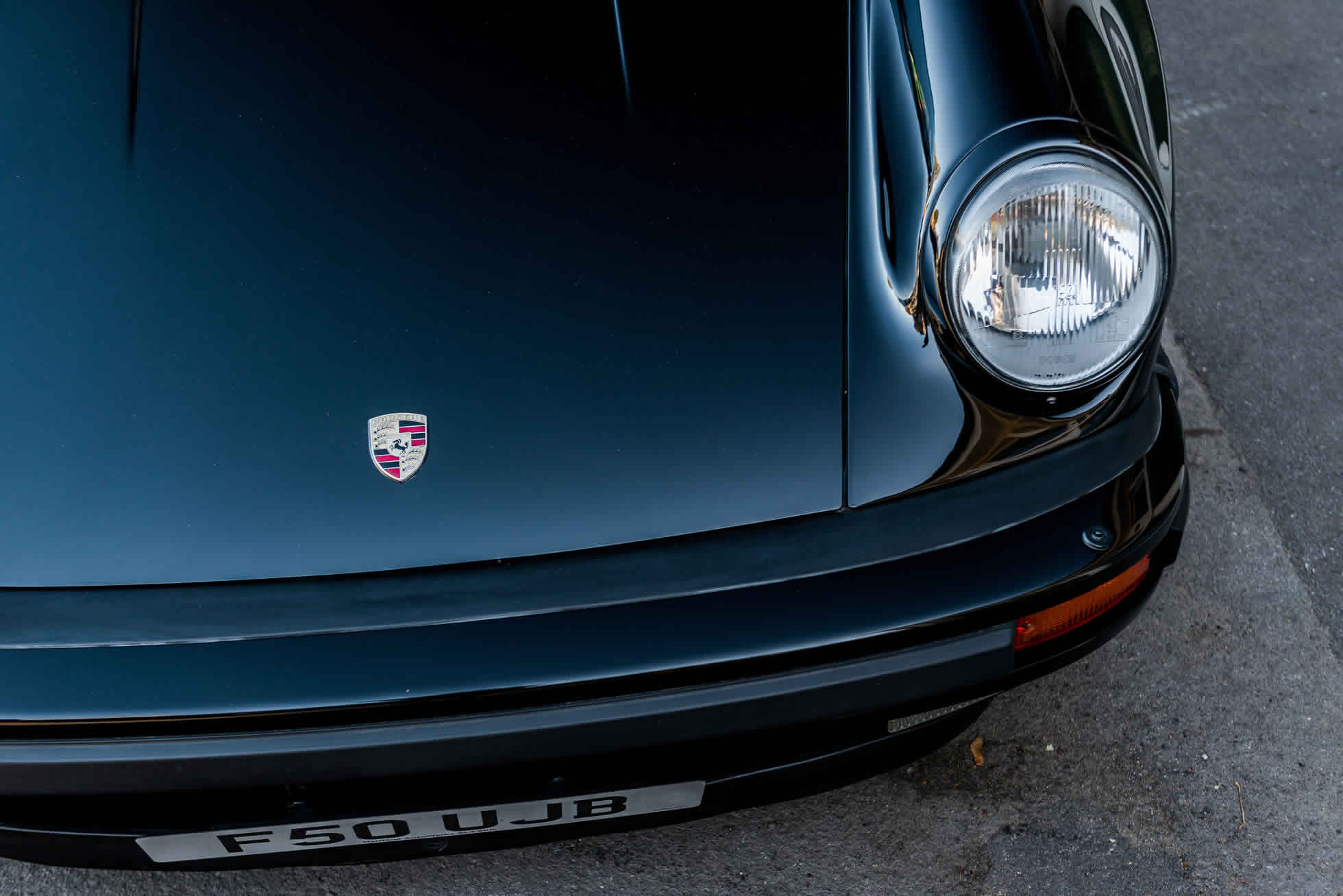 For Sale 1989 Porsche 930 3.3 Turbo lights