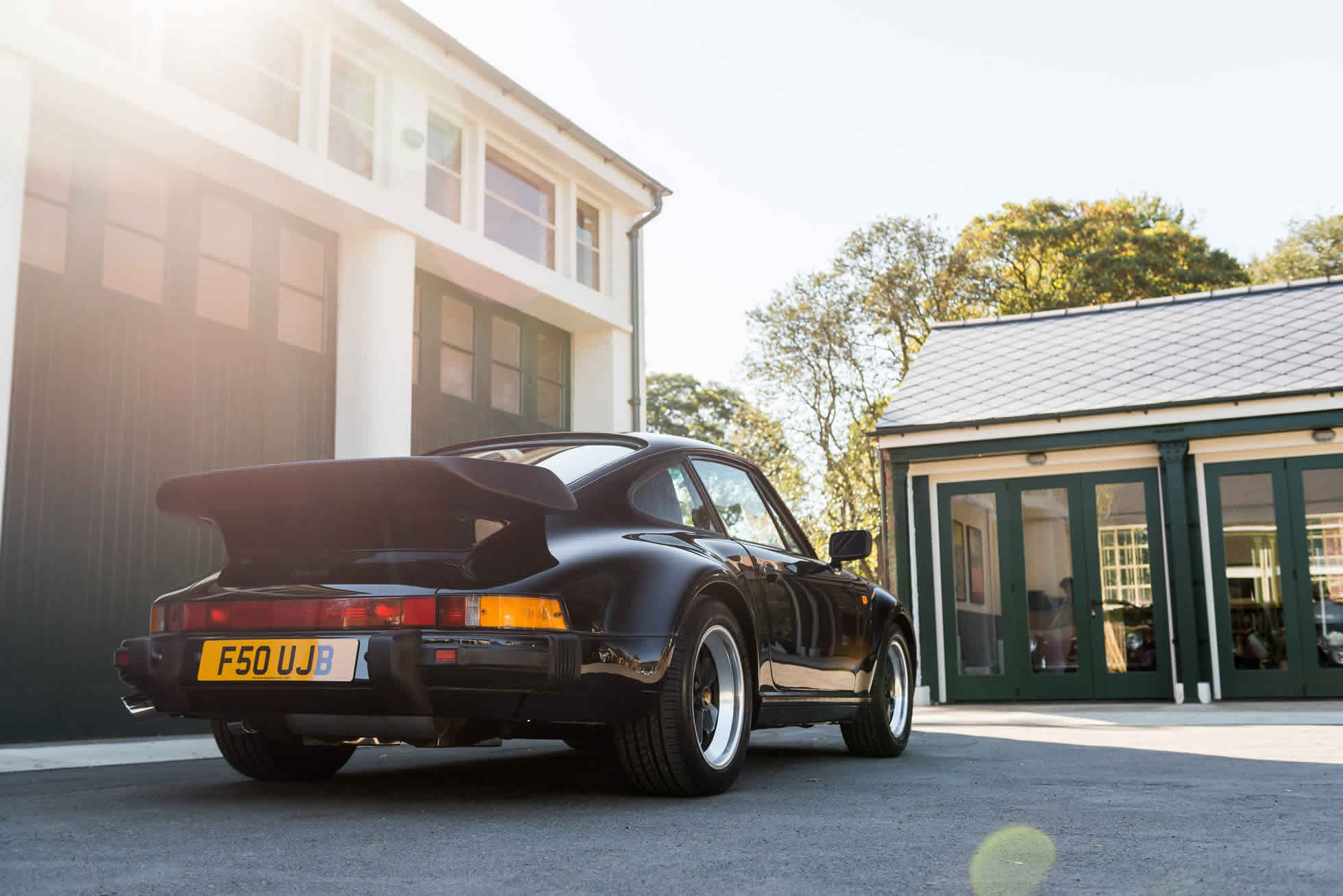 For Sale 1989 Porsche 930 3.3 Turbo rear view