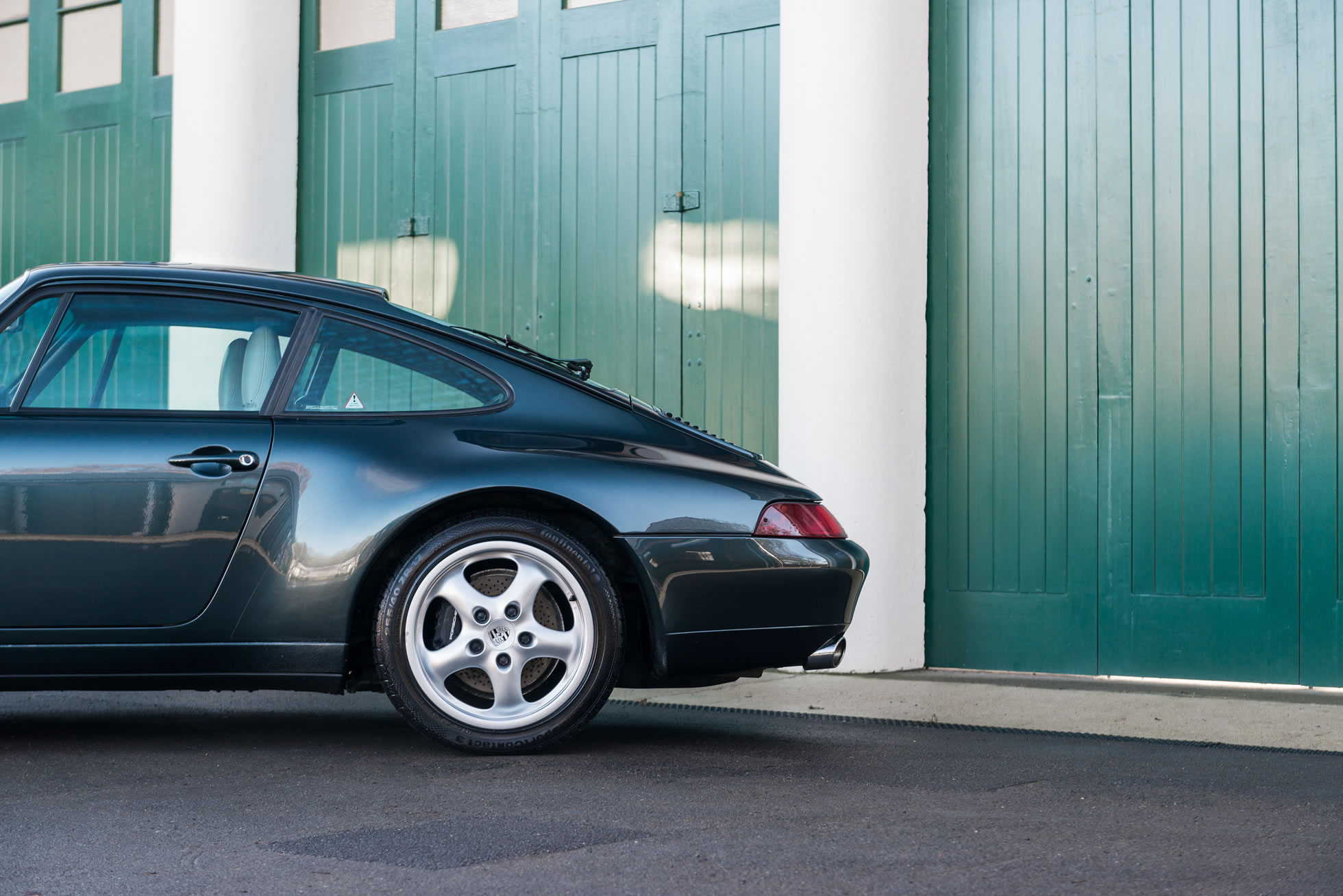 For Sale 1994 Porsche 911 Carrera (993) rear detail