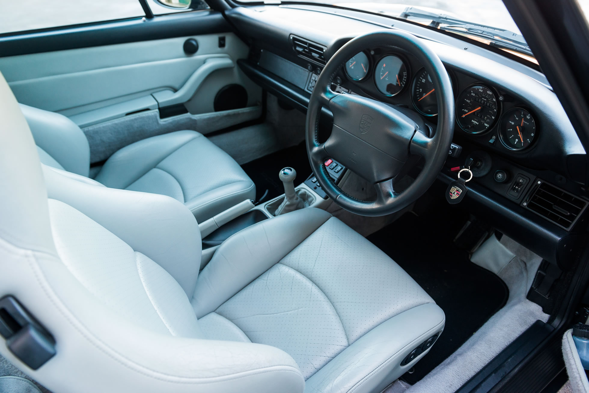 For Sale 1994 Porsche 911 Carrera (993) interior