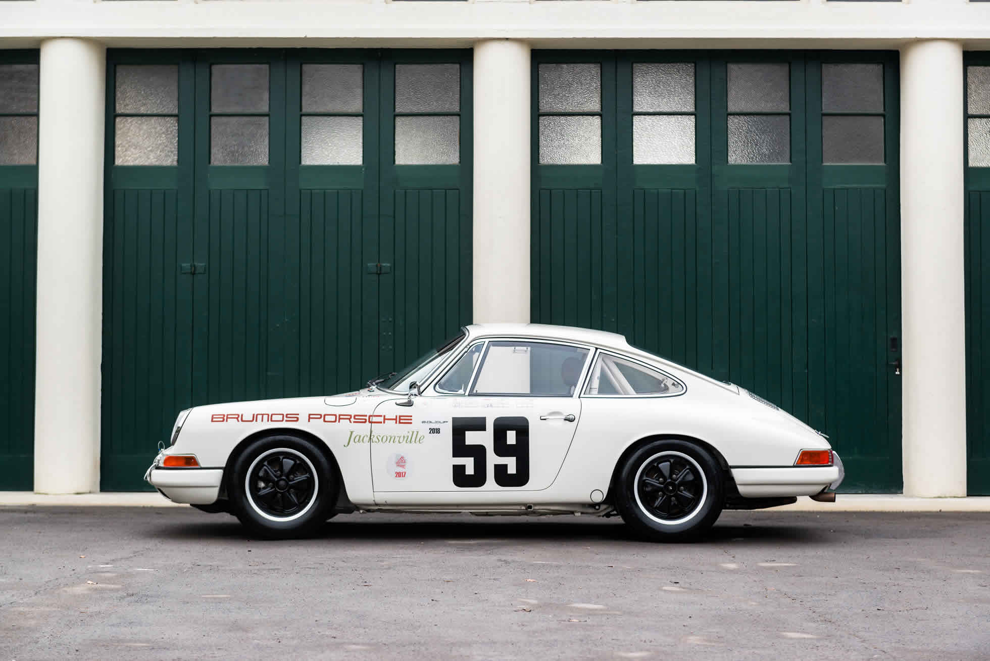 For Sale 1965 Porsche 911 2.0 SWB Race Car side view