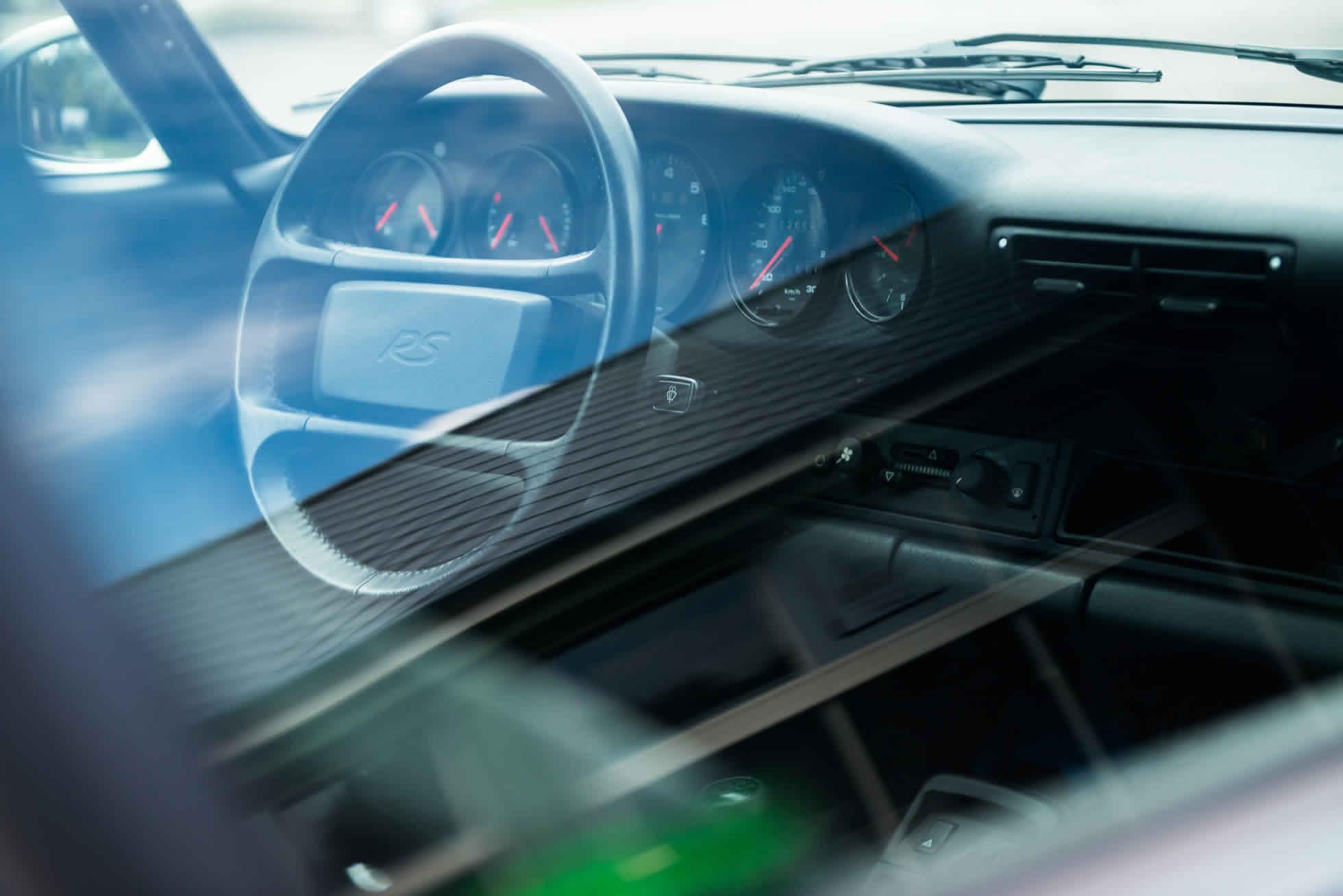 For Sale 1992 Porsche 964 RS Lightweight steering wheel