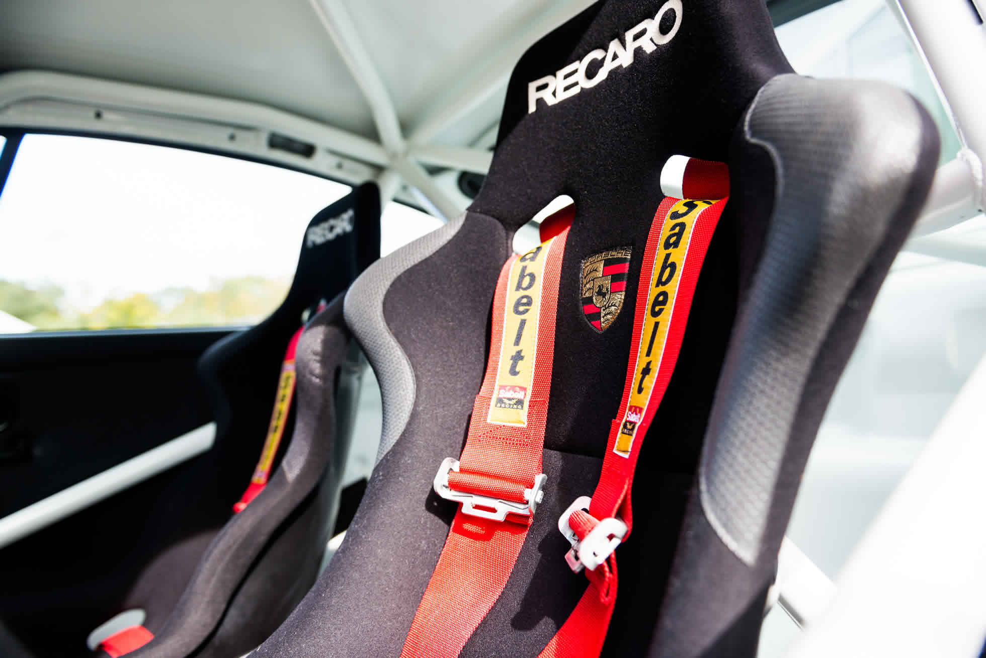 For Sale 1991 Porsche 964 Carrera Cup seat belts