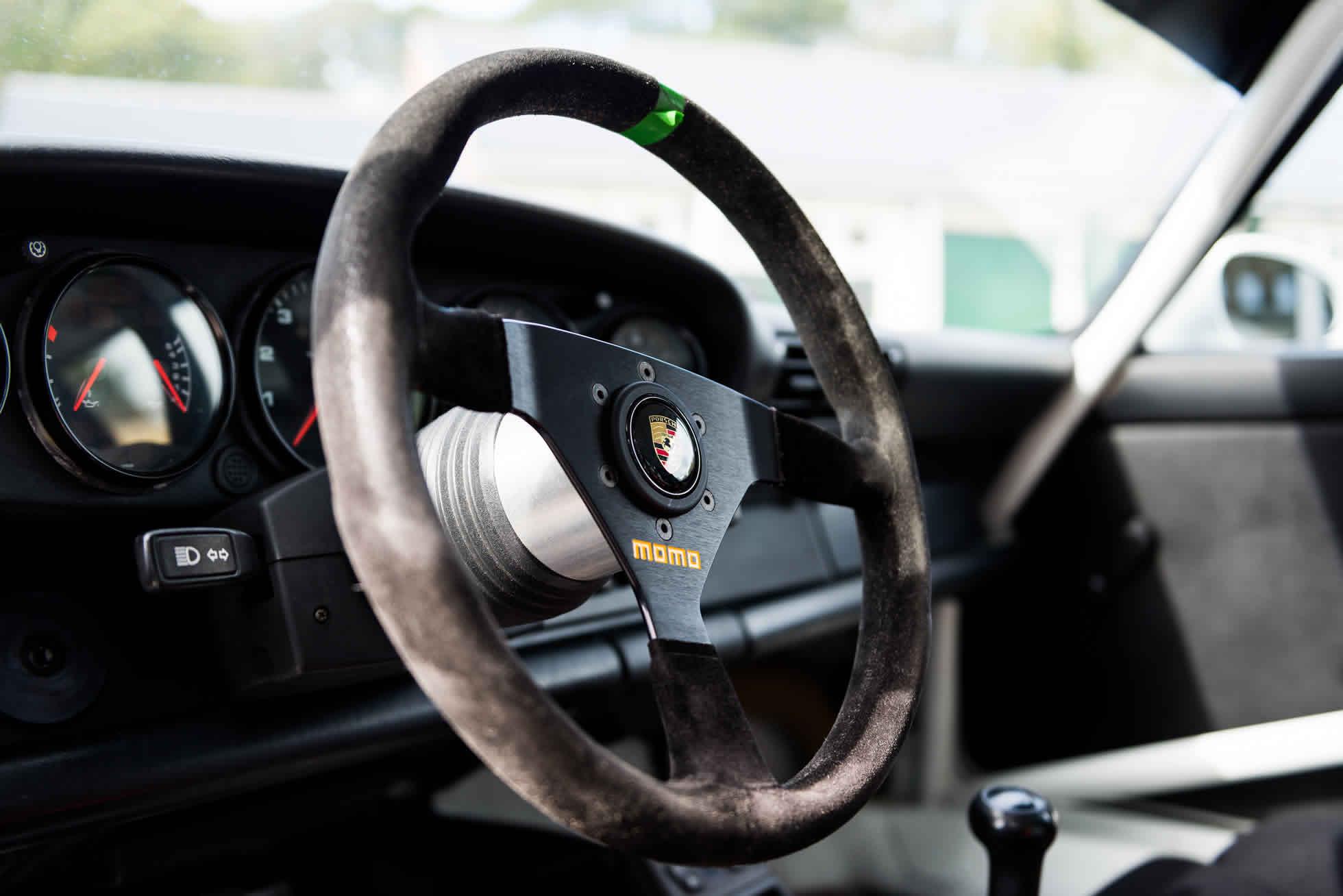 For Sale 1991 Porsche 964 Carrera Cup steering wheels