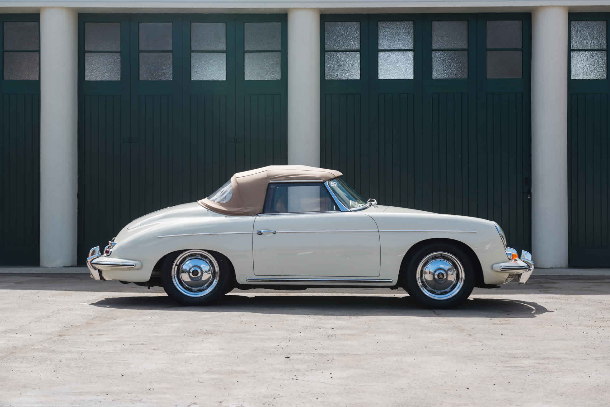 For Sale 1961 Porsche 356B S90 Roadster side view