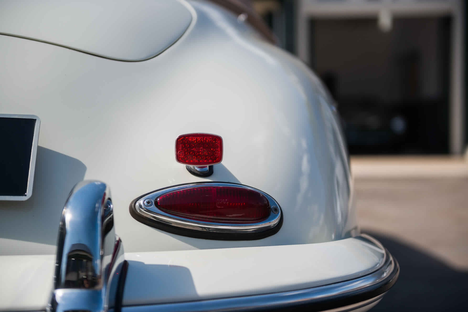 For Sale 1961 Porsche 356B S90 Roadster rear view lights