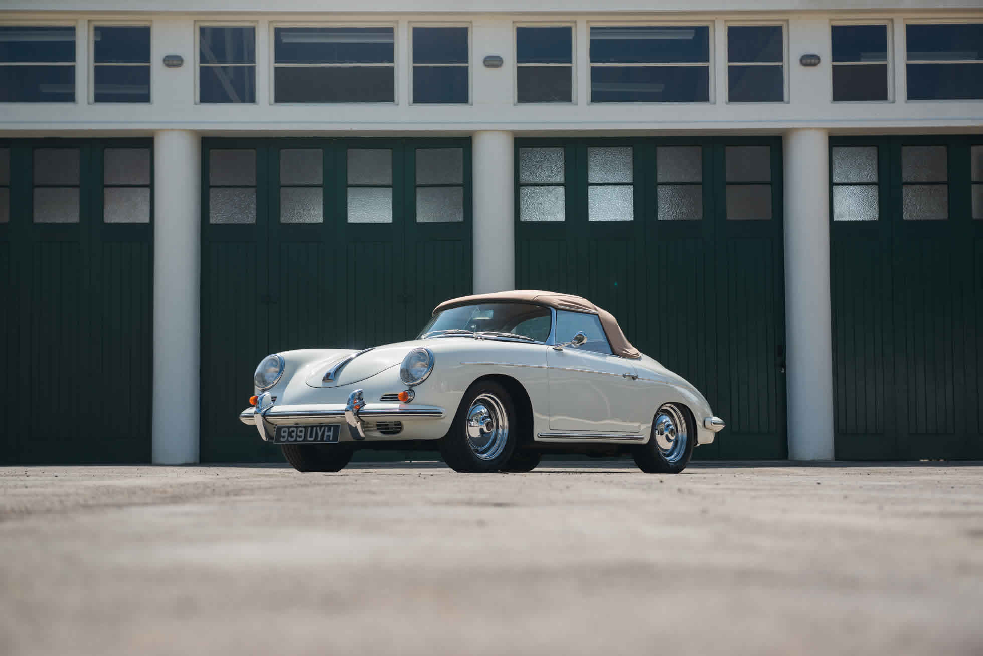 For Sale 1961 Porsche 356B S90 Roadster main view