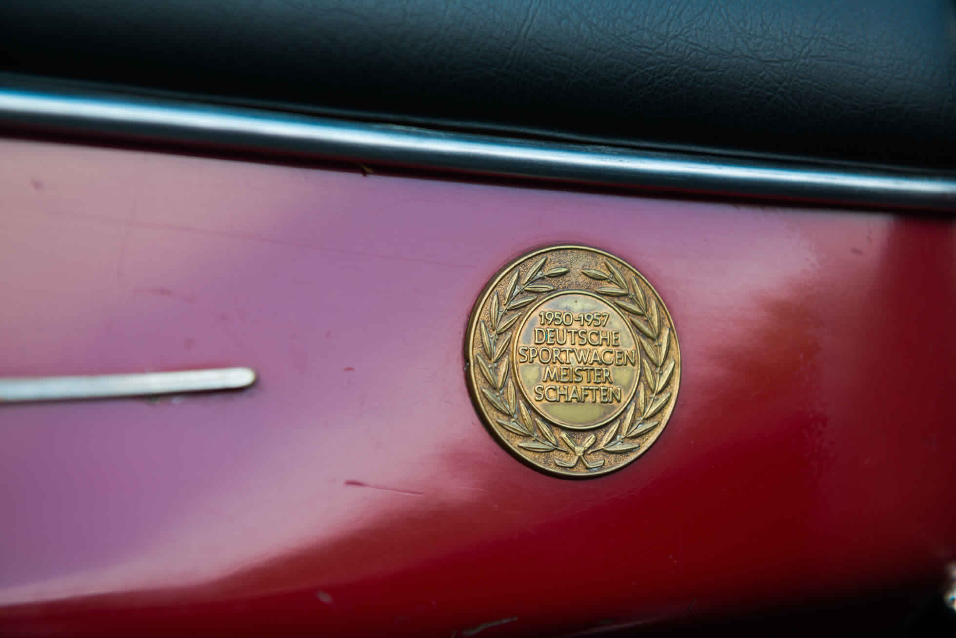 For Sale 1958 Porsche 356 Speedster badging