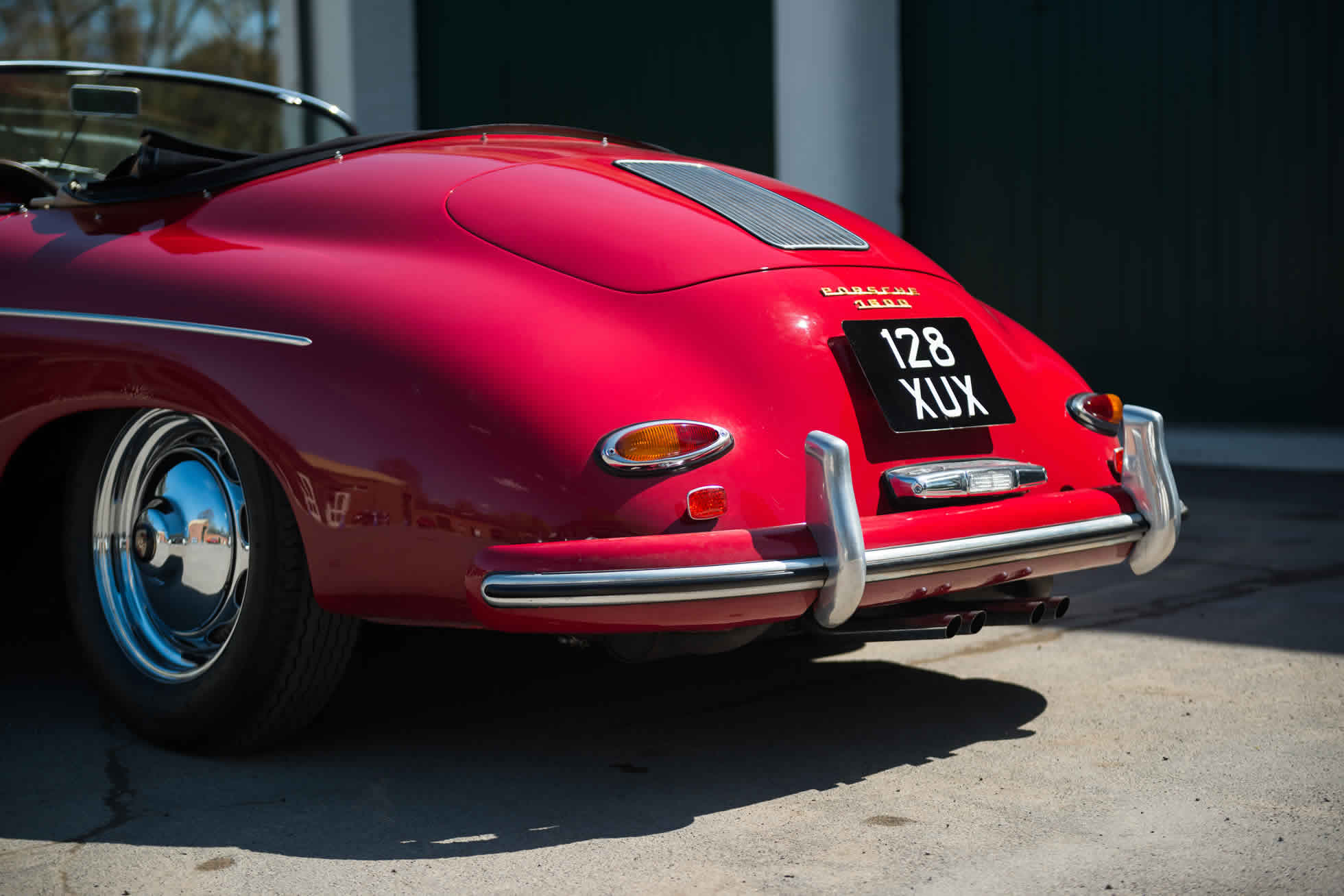 For Sale 1958 Porsche 356 Speedster rear view