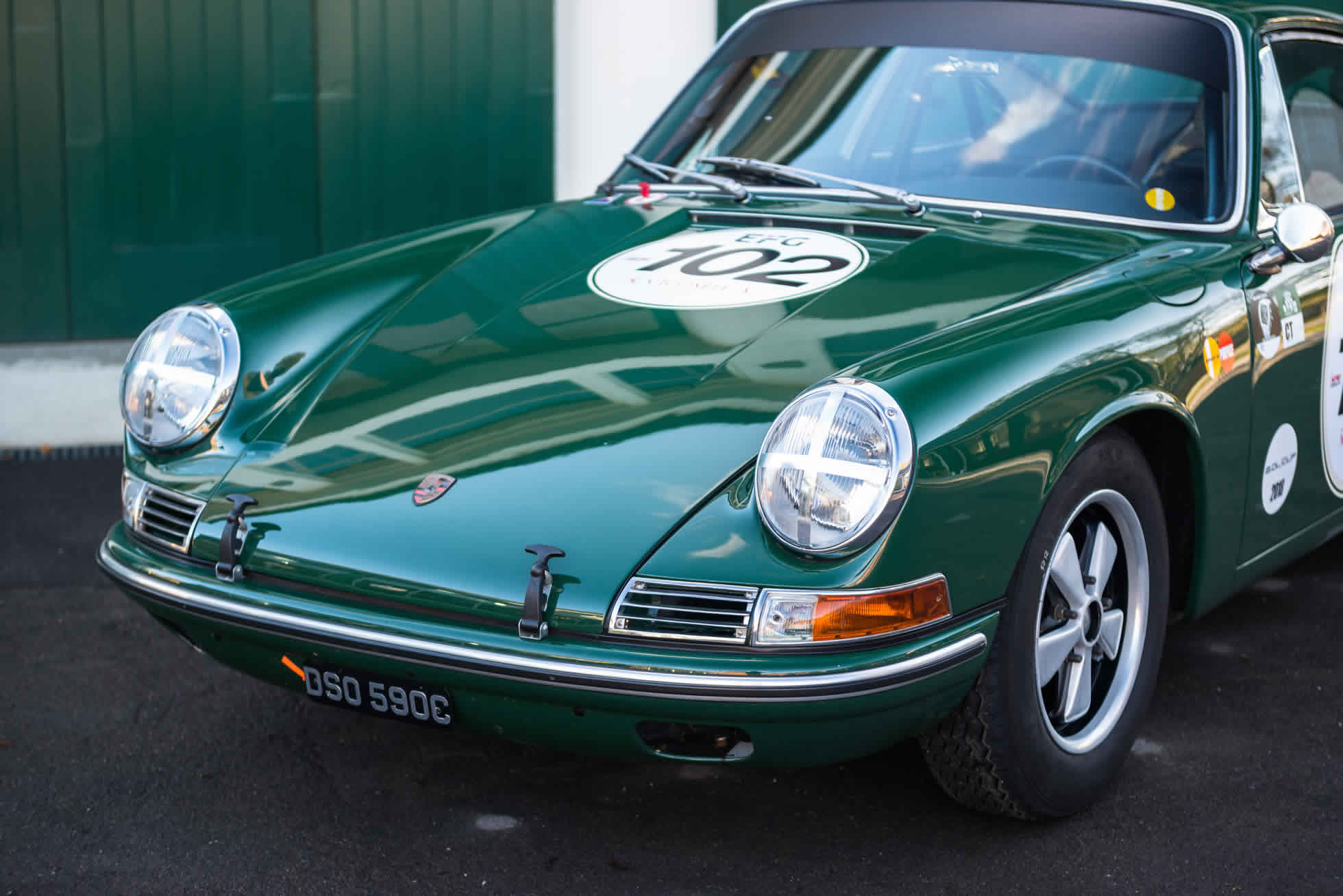 For Sale 1965 Porsche 911 quarter view