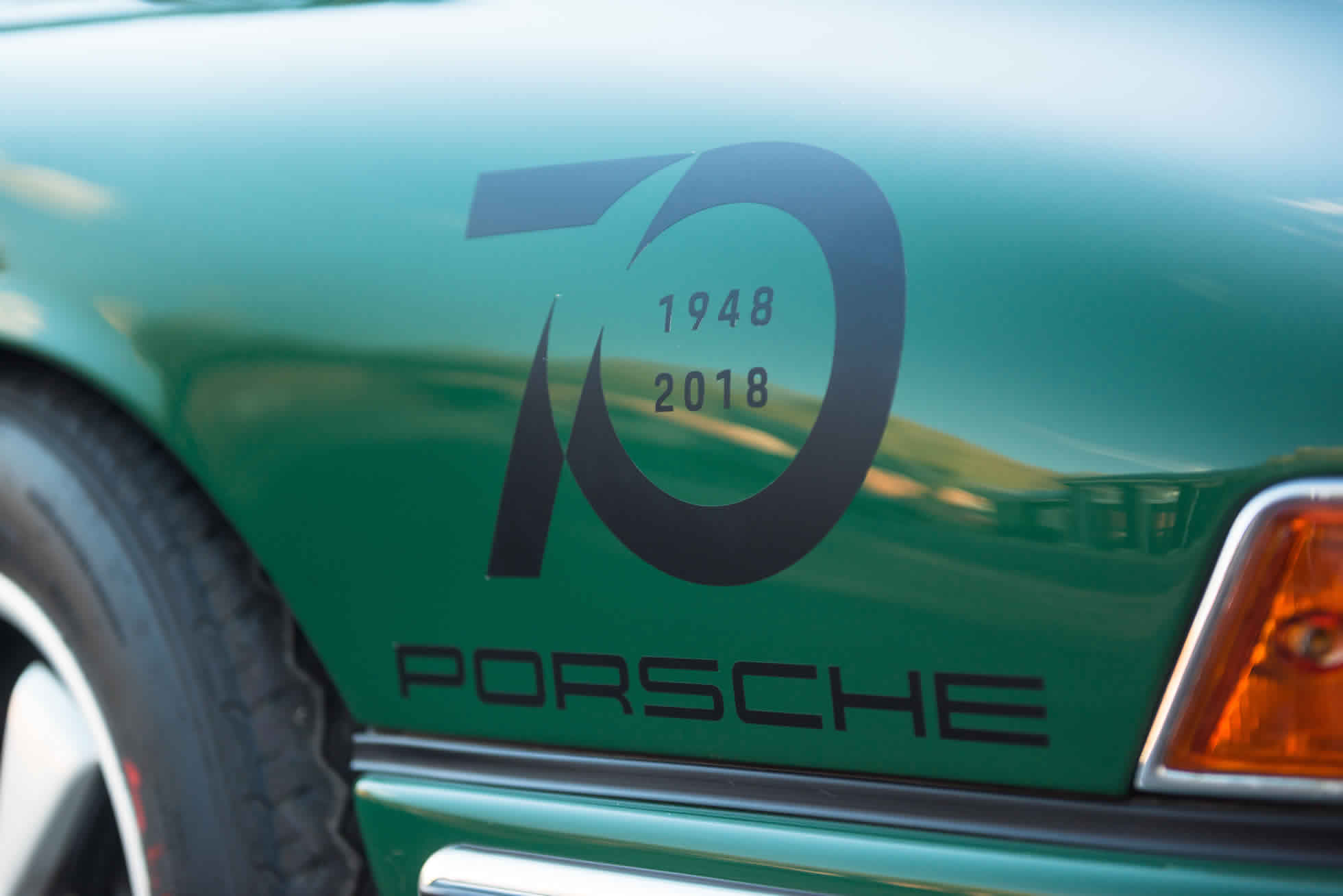 For Sale 1965 Porsche 911 70 years of Porsche badging