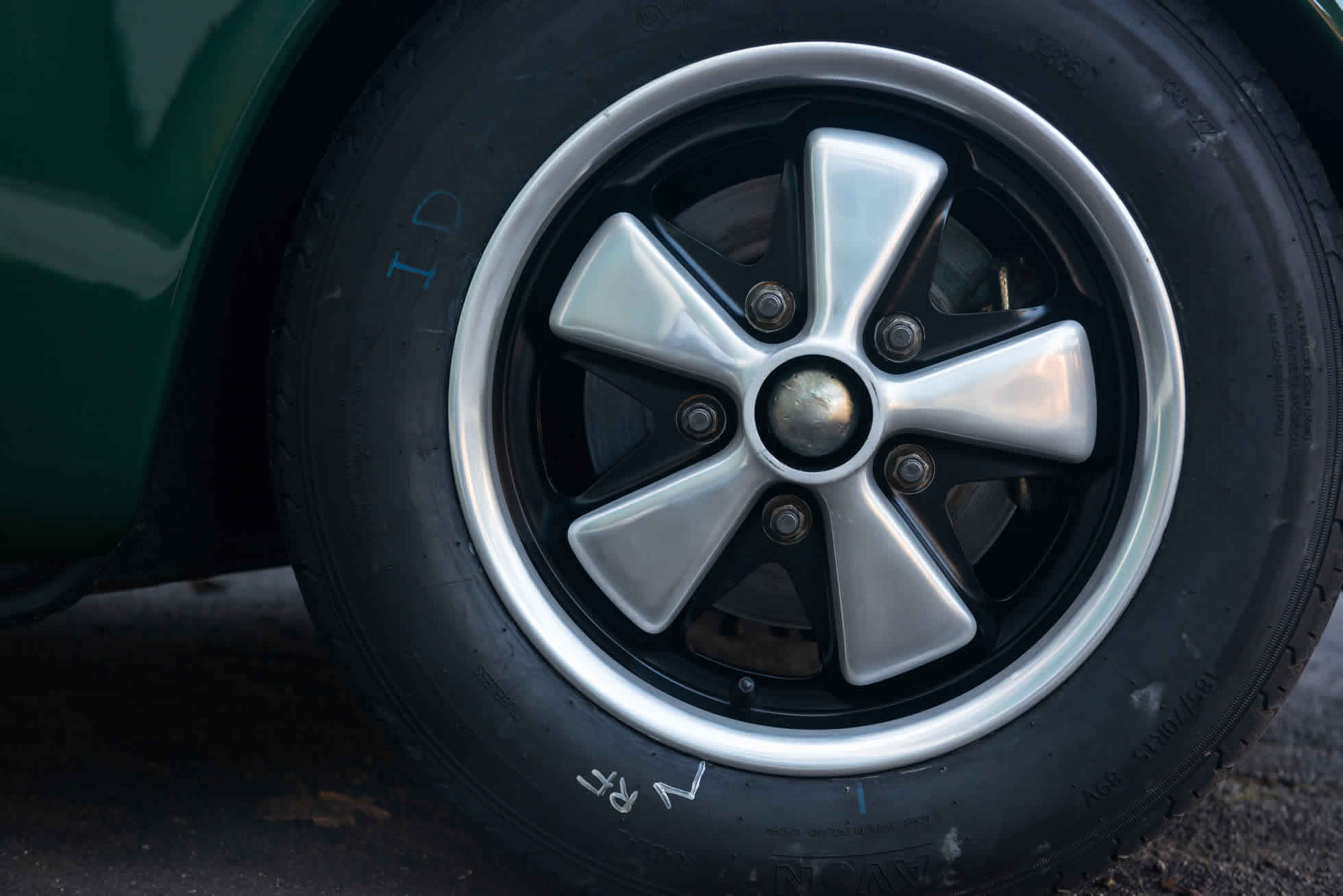 For Sale 1965 Porsche 911 wheels