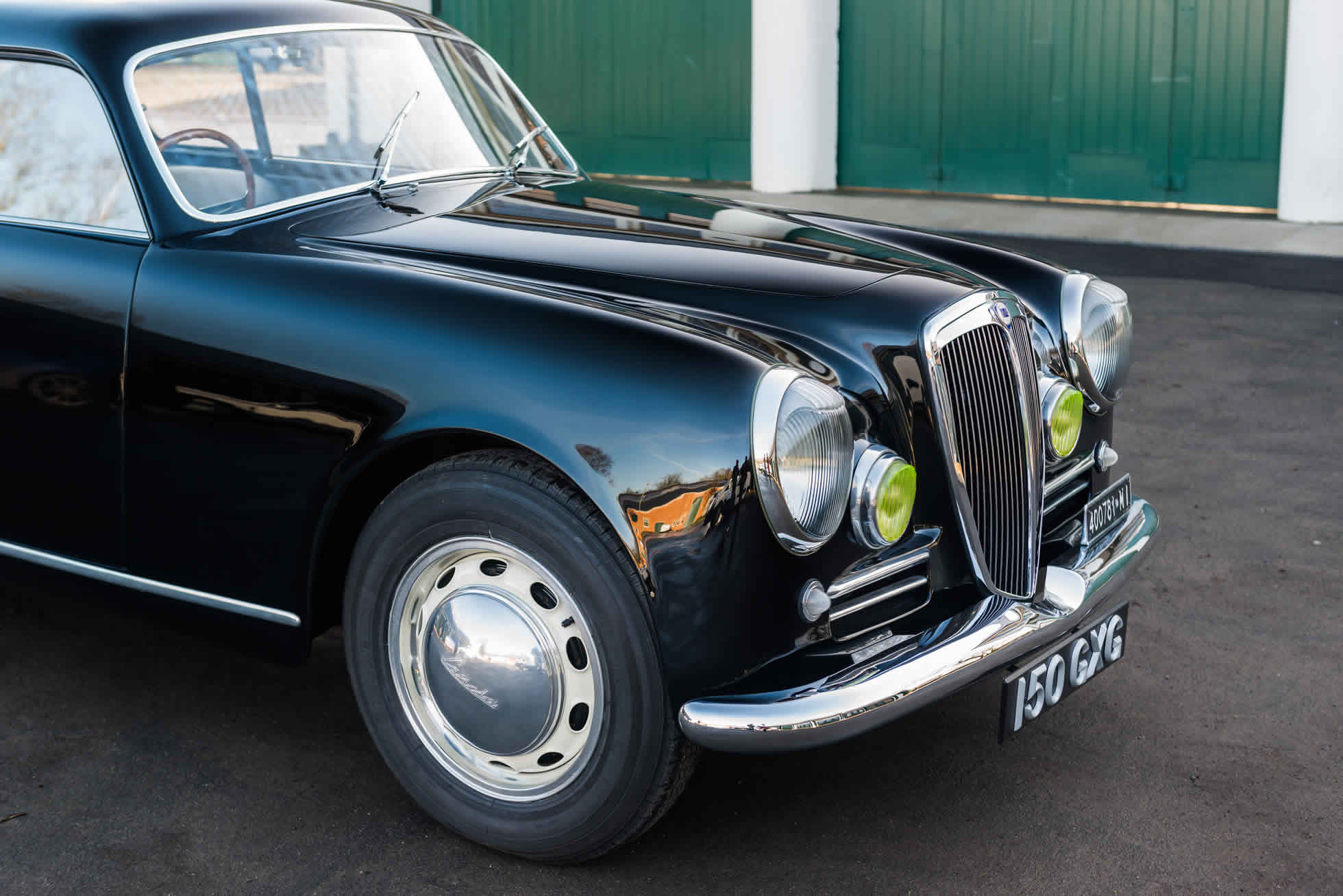 For Sale 1952 Lancia Aurelia B20 Series II Coupe quarter view