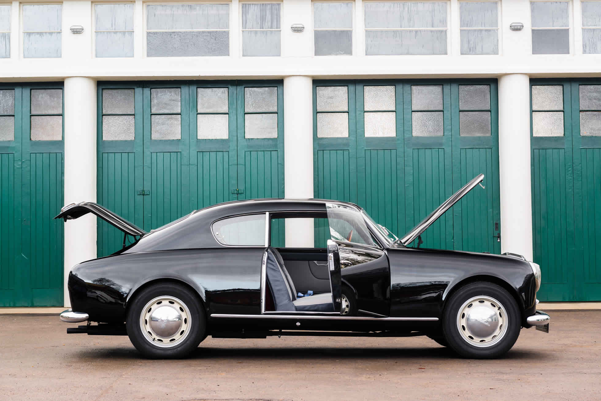 For Sale 1952 Lancia Aurelia B20 Series II Coupe side view open