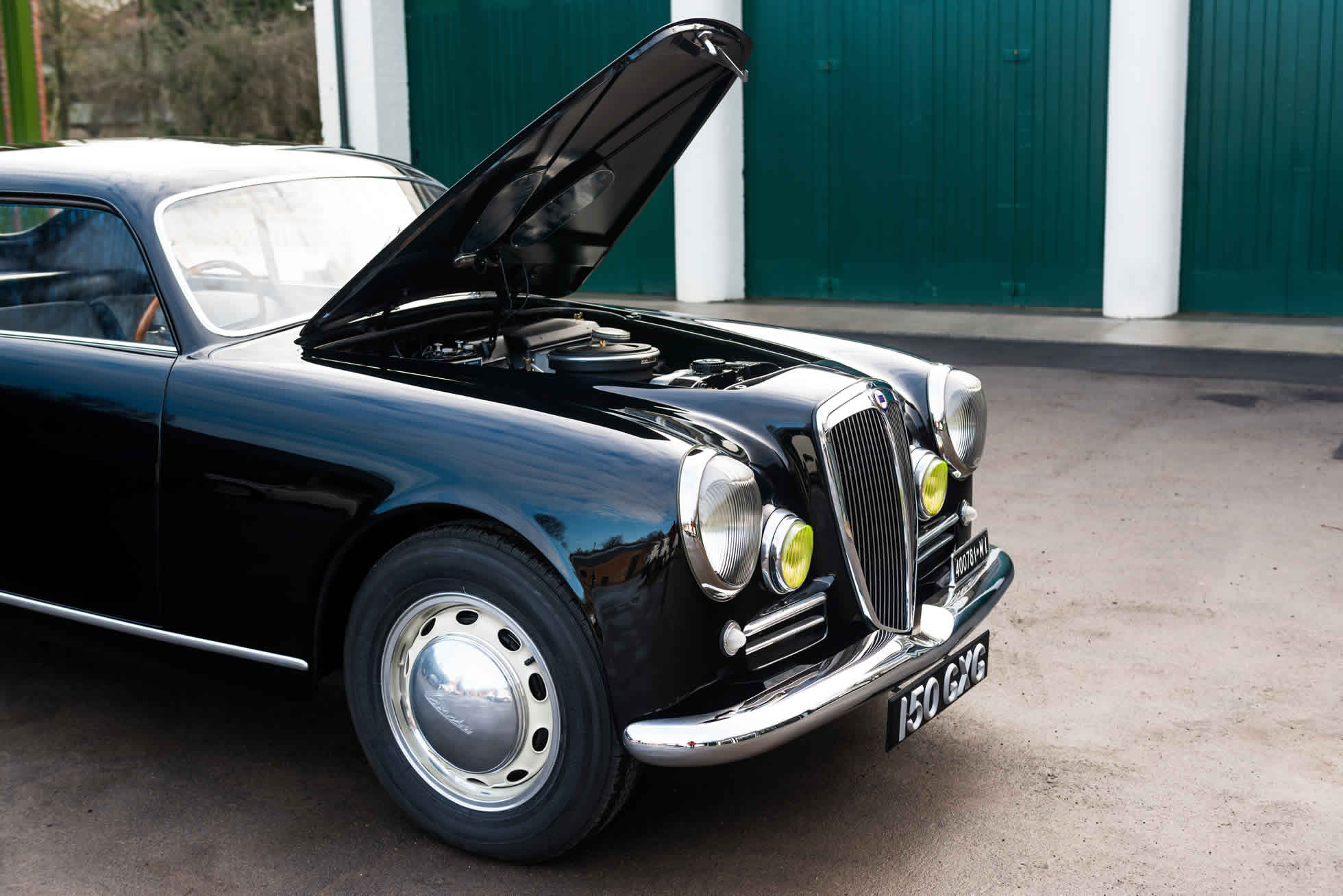 For Sale 1952 Lancia Aurelia B20 Series II Coupe engine