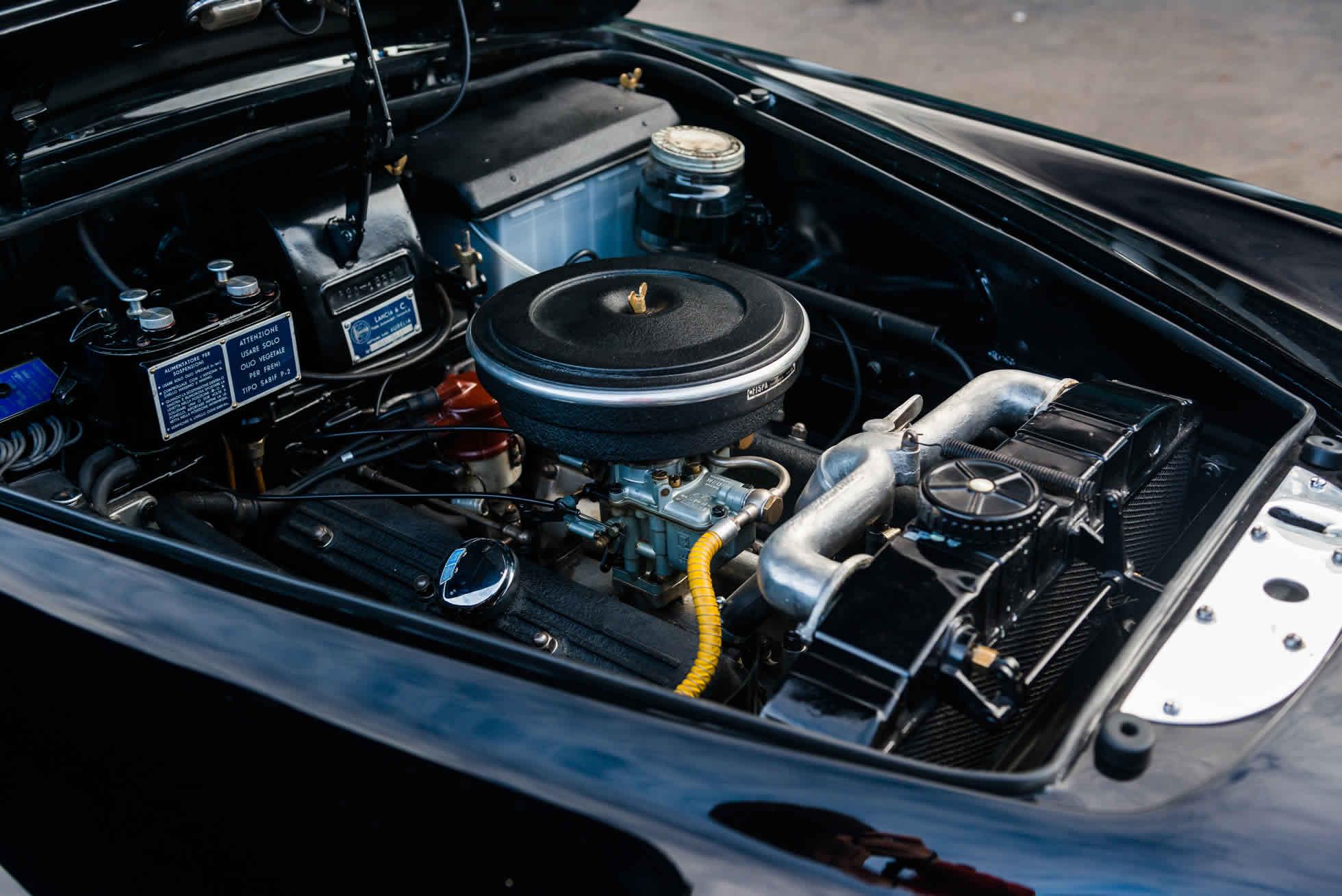 For Sale 1952 Lancia Aurelia B20 Series II Coupe engine detail