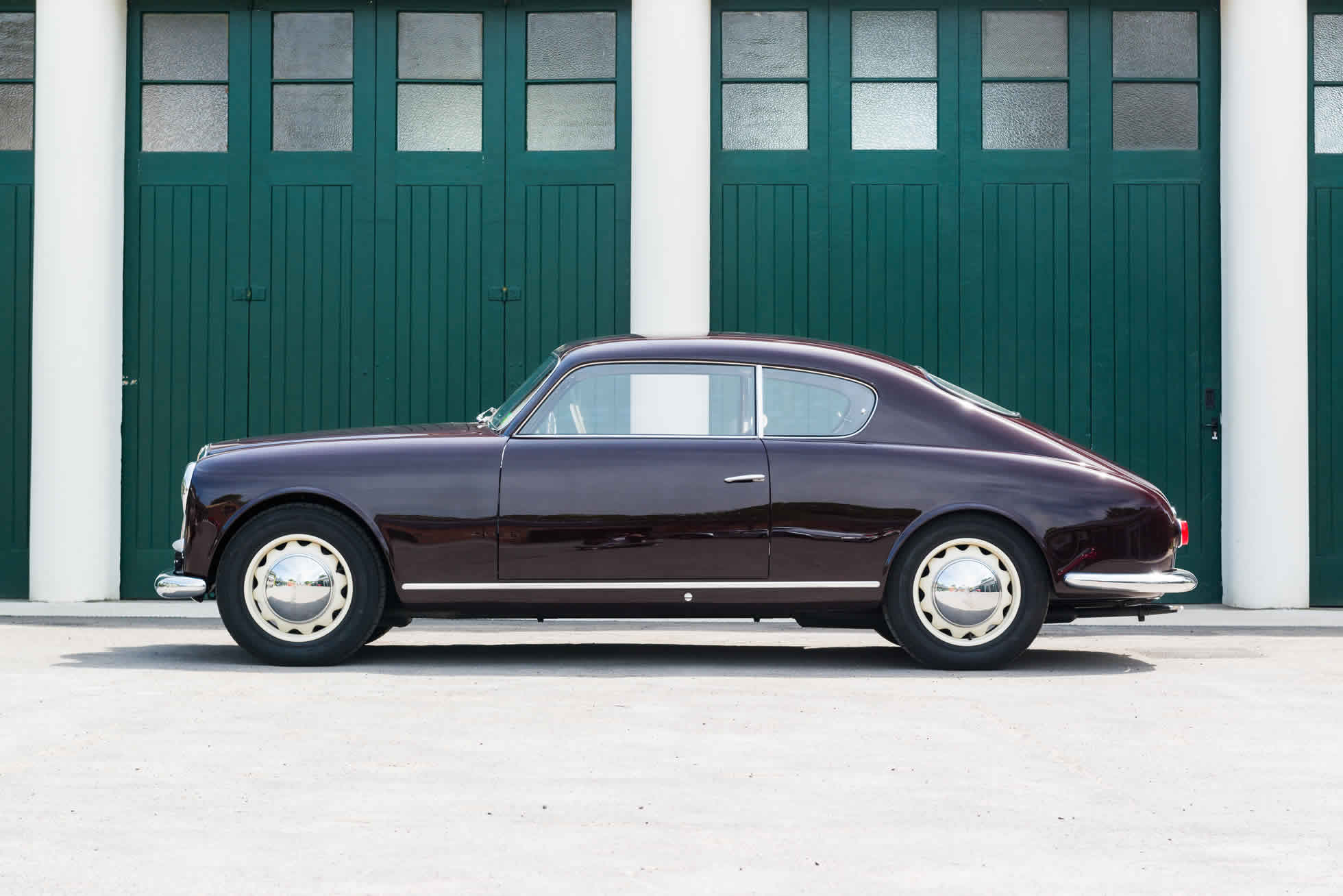 For Sale 1953 Lancia Aurelia B20GT Series III Coupe side view