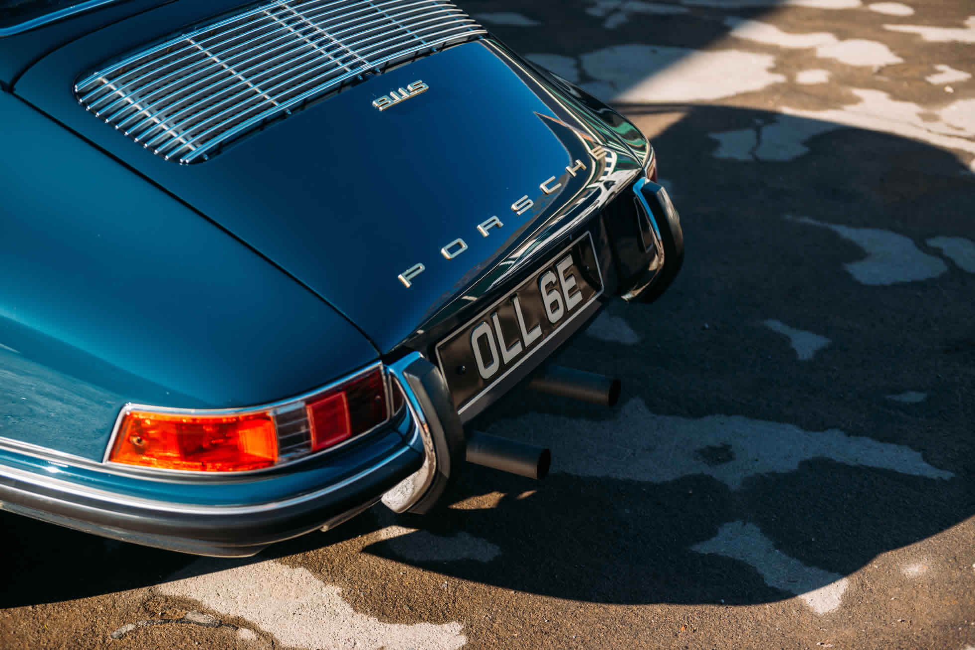 For Sale 1967 Porsche 911 S rear view