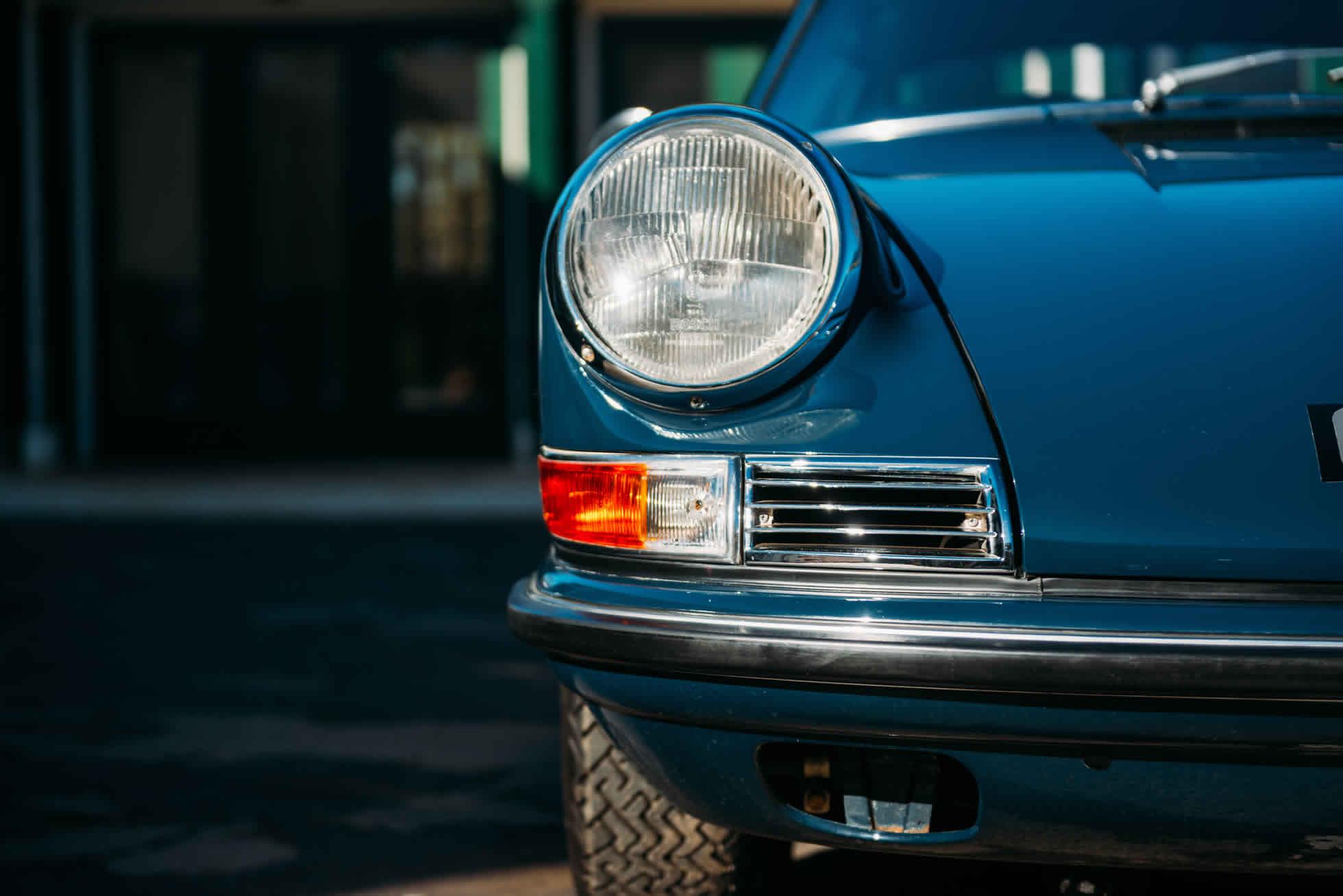 For Sale 1967 Porsche 911 S front lights