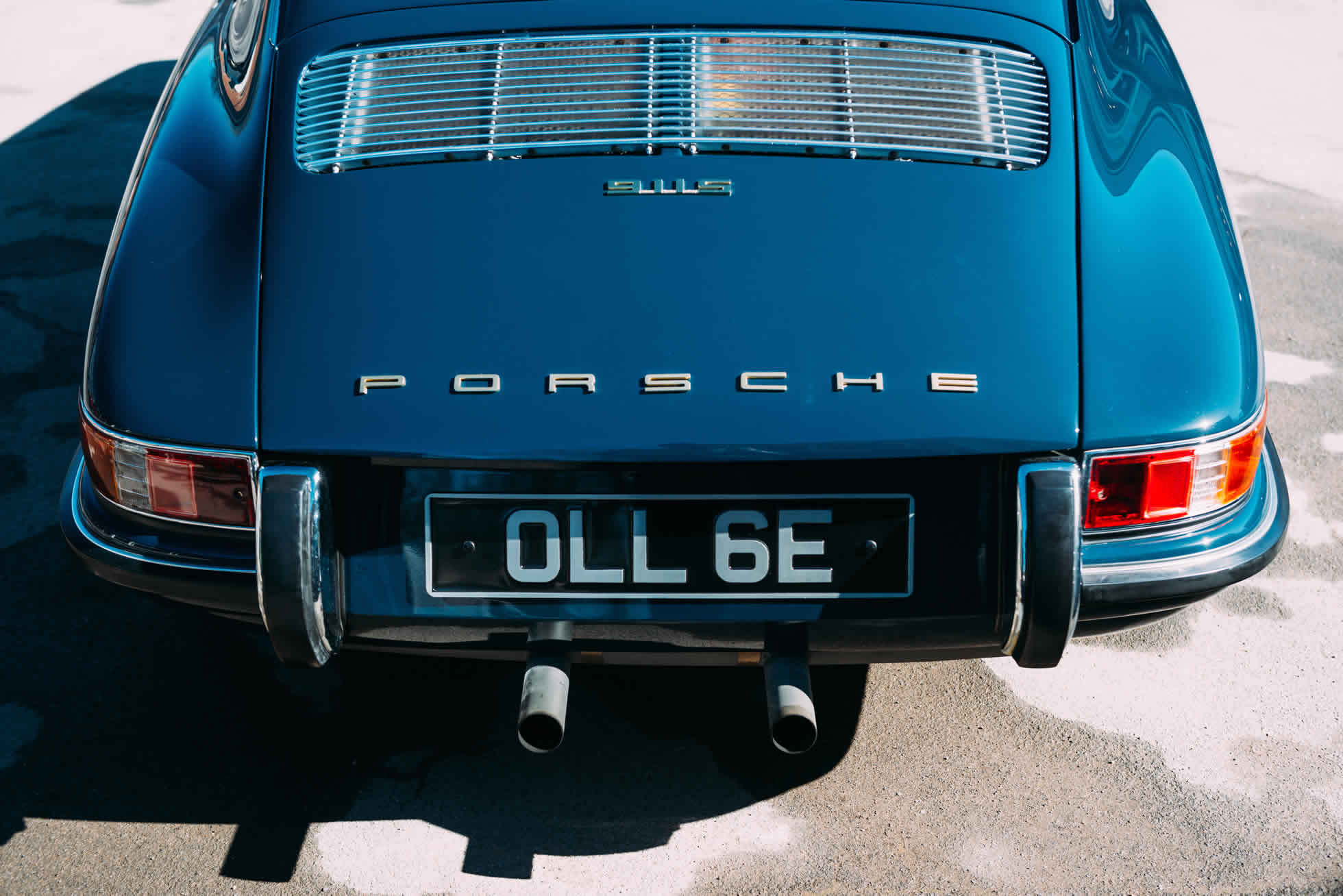 For Sale 1967 Porsche 911 S rear view alternative