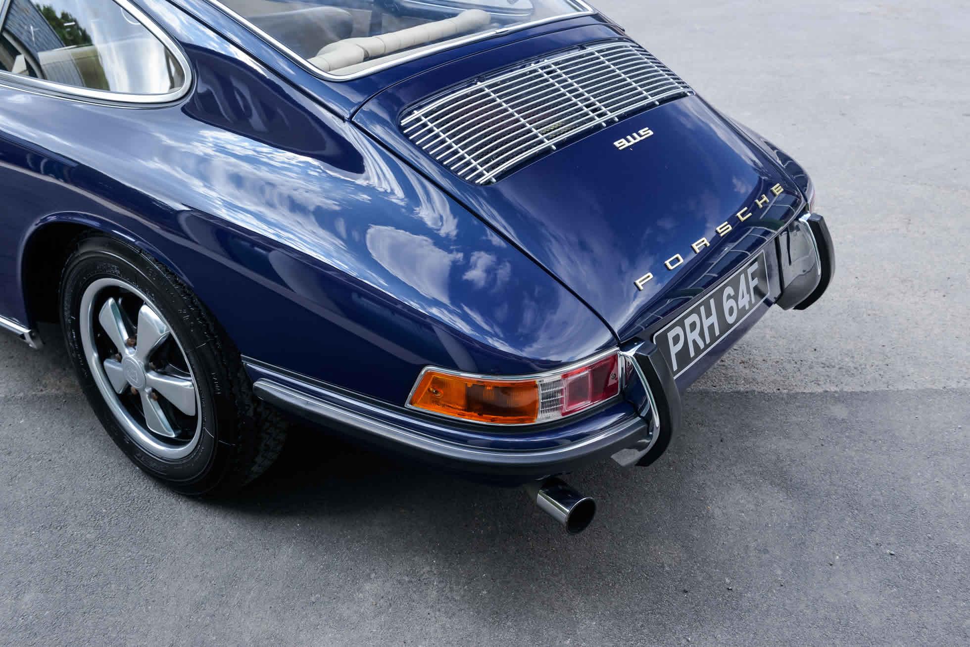 For Sale 1968 Porsche 911 S rear quarter