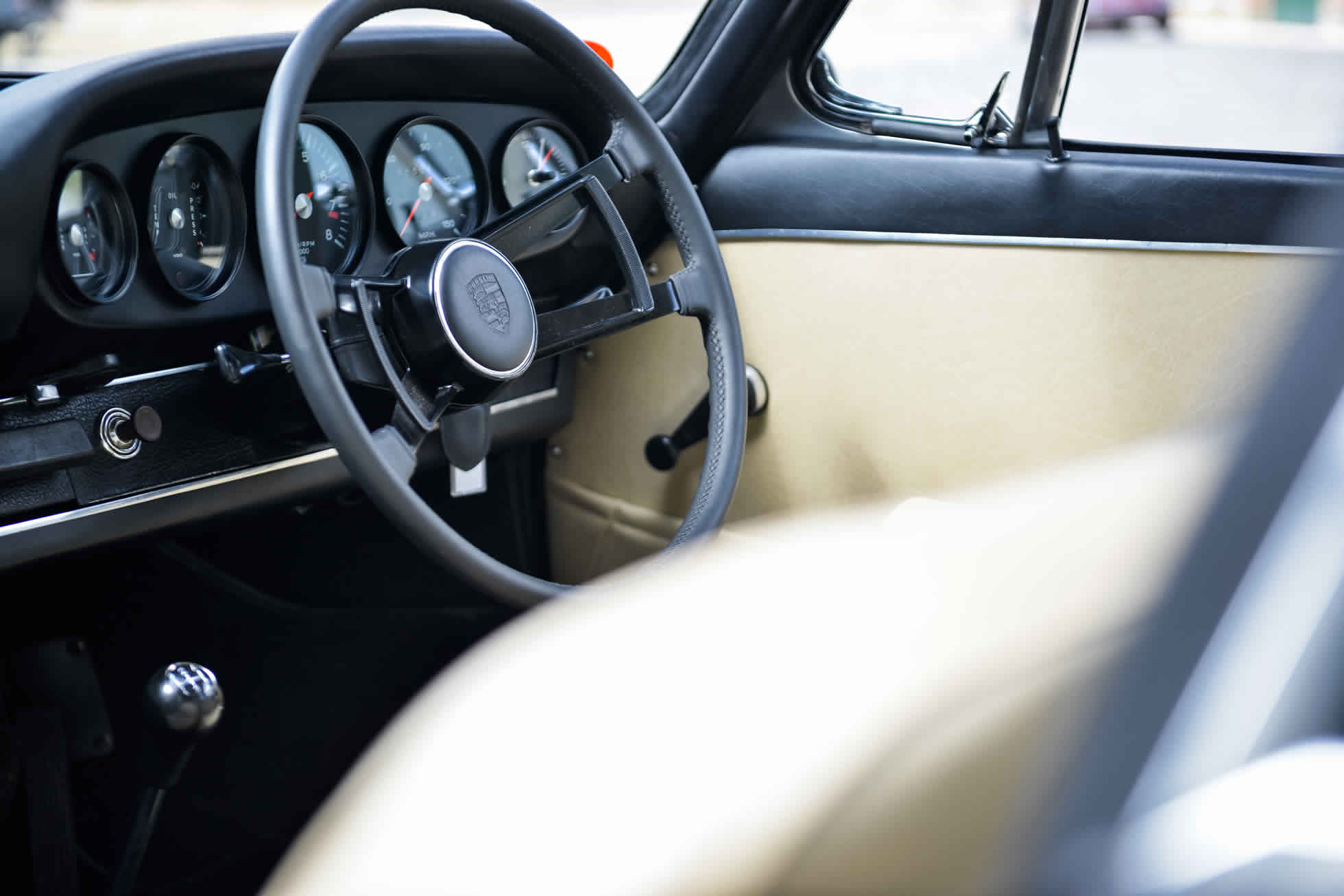 For Sale 1968 Porsche 911 S steering wheel